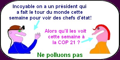 Hollande et la COP 21
