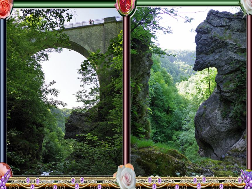 Le Pont du Diable 25270 CRouzet-Migette