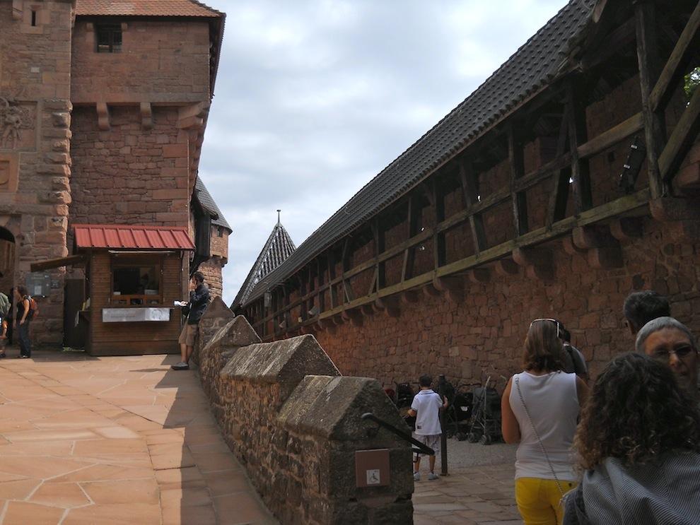 Château fort de Koenigsbourg...dommage ce jour là pas trop de soleil