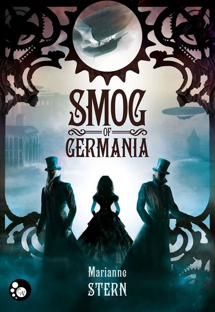Couverture de Smog of Germania - Marianne Stern ( Editions du chat Noir)