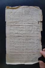 1582. Extrait des Rentes au Baillaige de la Jossais en Taden