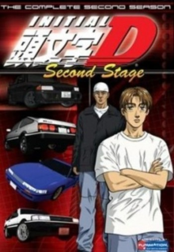 Initial D Second Stage انمي