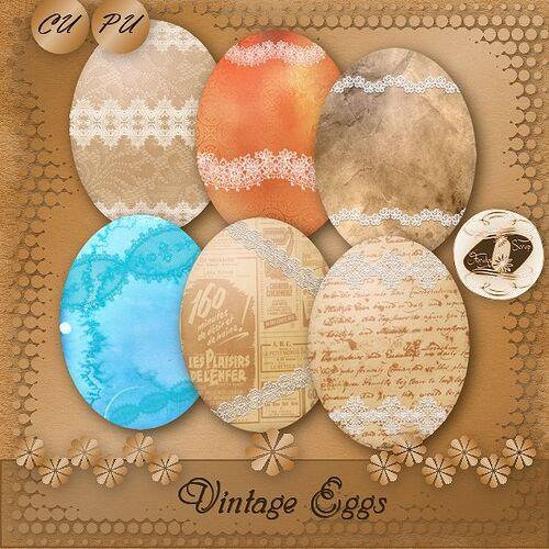 CU/PU Vintage Eggs