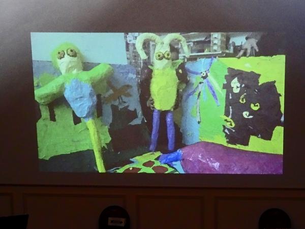 """""""L'Art je le pratique, je l'écoute, je le regarde..."""" un beau projet réalisé par les élèves des écoles des Cantons de Montigny et de Laignes"""