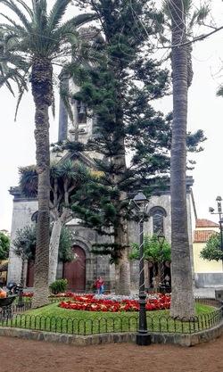 Puerto de La Cruz : la Iglesia de Nuestra Señora de la Peña de Francia