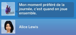 Semaine 3 - Quartier Willow Creek - Foyer Spencer-Kim-Lewis