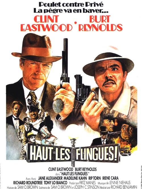 HAUT LES FLINGUES - BOX OFFICE CLINT EASTWOOD 1986