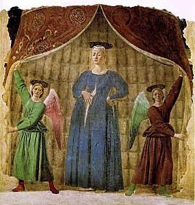 Piero della francesca,madonnaDelParto