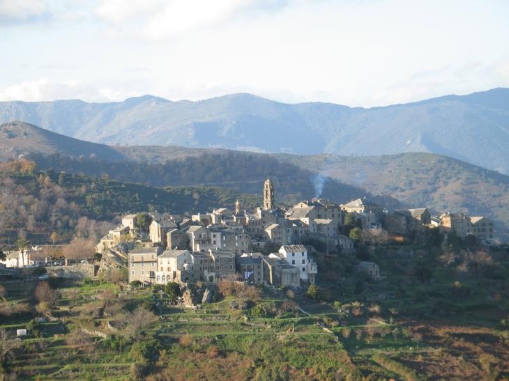 Photo prise du calvaire - Penta-di-Casinca