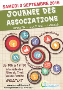 Journée des Associations samedi 3 septembre