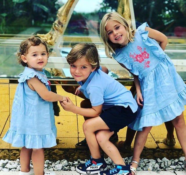 Les trois enfants de Madeleine de Suède
