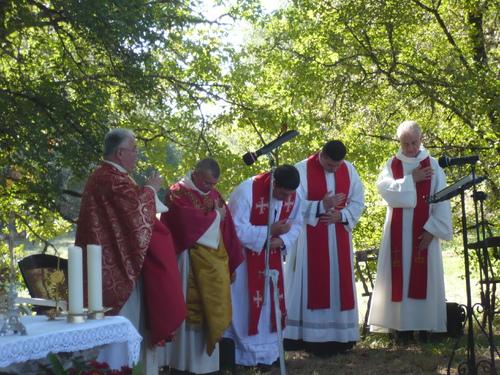 Messe au Puech le 11 septembre 2014