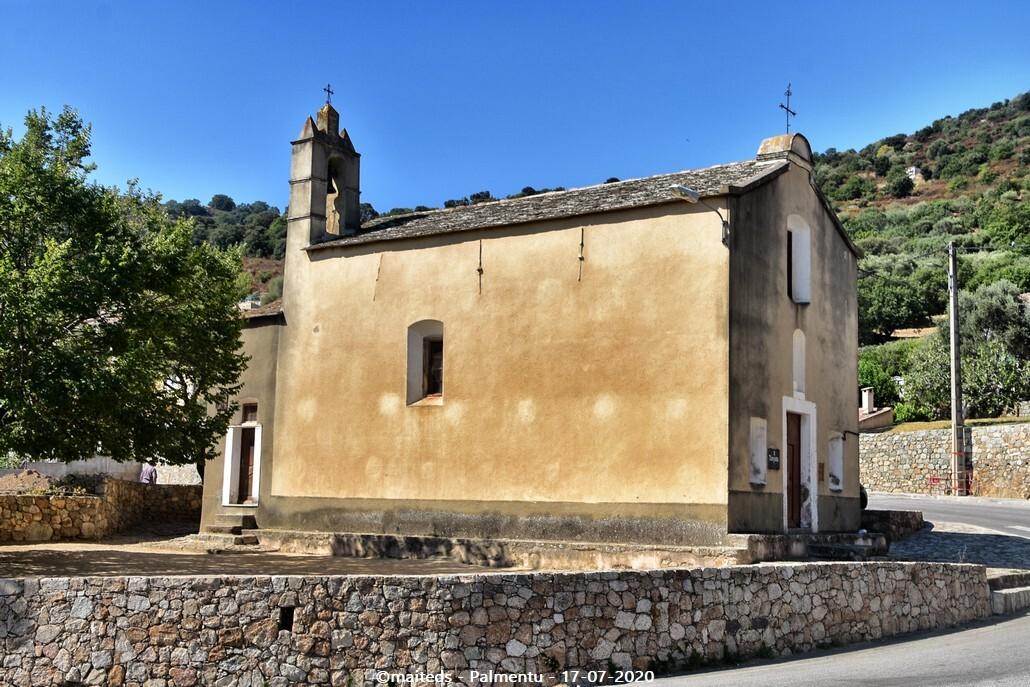 Chapelle A Nunziata - Palmentu - Santa-Reparata-di-Balagna  -  Corse