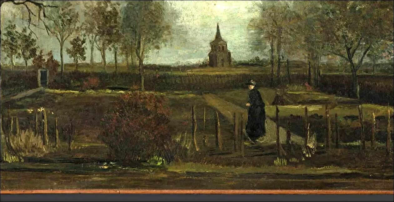 """*** Van Gogh / On a dérobé """" le jardin du presbytère """" !!!"""