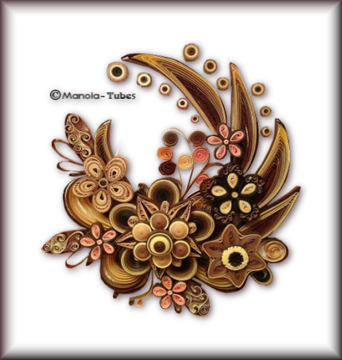 Tubes Quilling Arts floral 2993