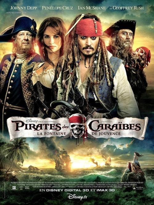 """Bonsoir a l'honneur : """" Pirates des Caraïbes : la Fontaine de Jouvence """""""