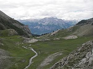 Vallee de la Durance depuis le lac de l Ascension