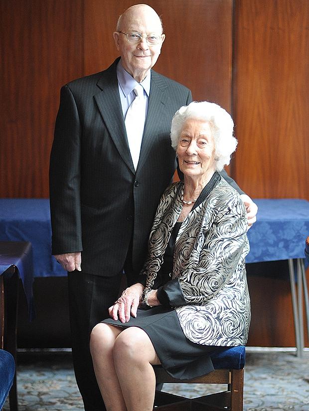 70 ans après, Ron et Eileen Everest sont toujours mariés