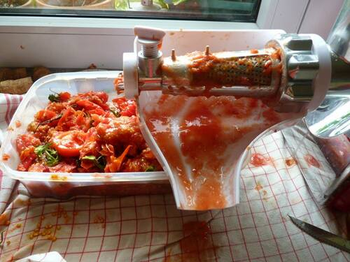 histoire de tomates etc...