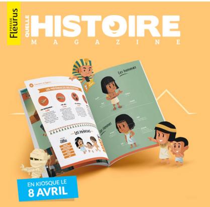 """""""Quelle histoire magazine"""" à découvrir !"""