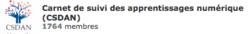 Carnet de Suivi Des Apprentissages Numérique.
