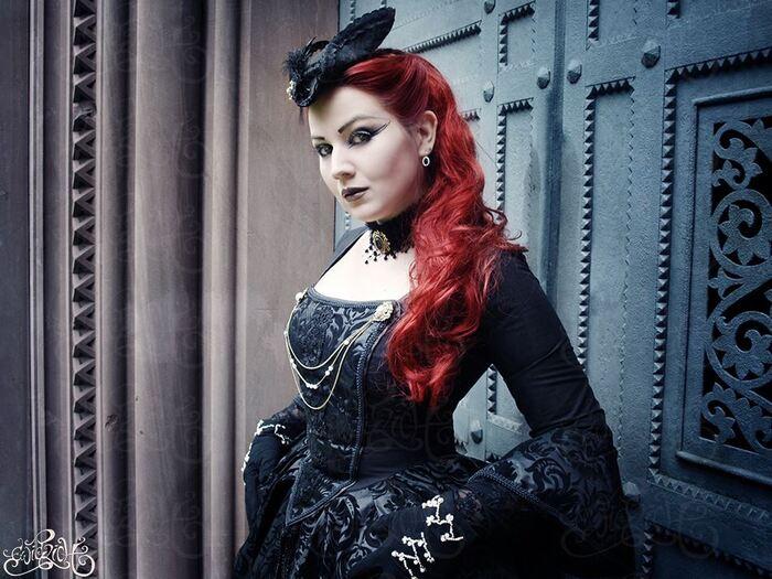 MADmoiselle Méli H., modèle goth