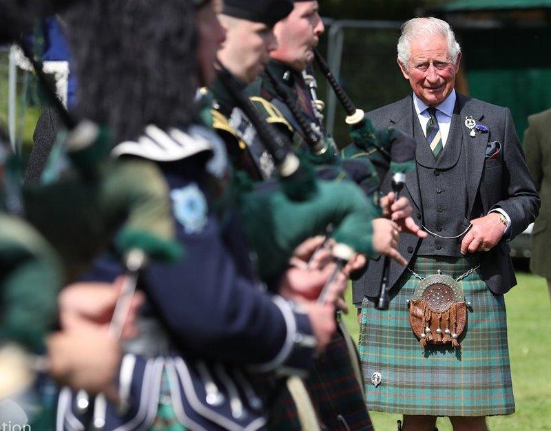Ballater Highland Games in Scotland