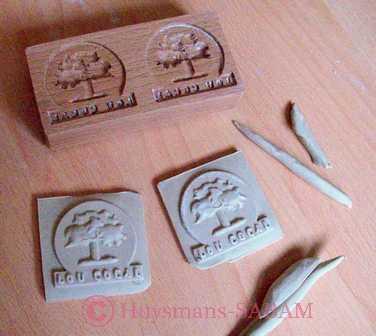 moule à sablé -springerle en bois - Arts et sculpture: sculpteur à façon