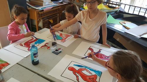 CE1 CZ visite du musée Matisse le 20 avril 2018