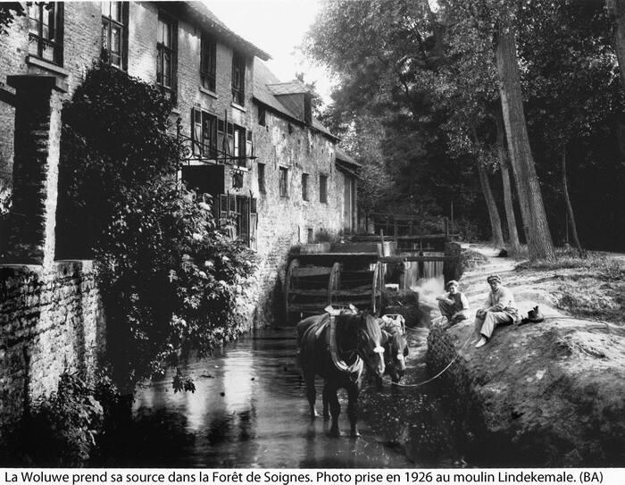 Wolu1200 : Le moulin de Lindekemale en... 1926