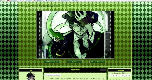 thème hazama (blazblue)