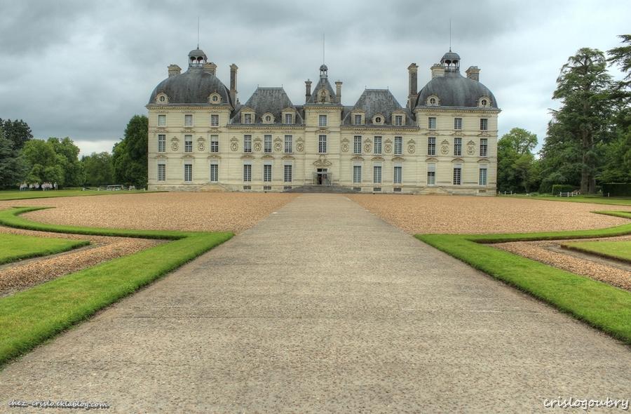 """Le chateau de """" Moulinsart """" (Cheverny)"""
