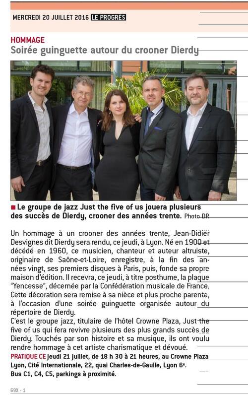 Dierdy et l'UGAMPA - avec René de Buxeuil