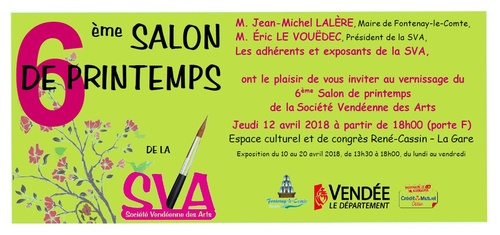 6ème Salon de printemps de la SVA - Vernissage