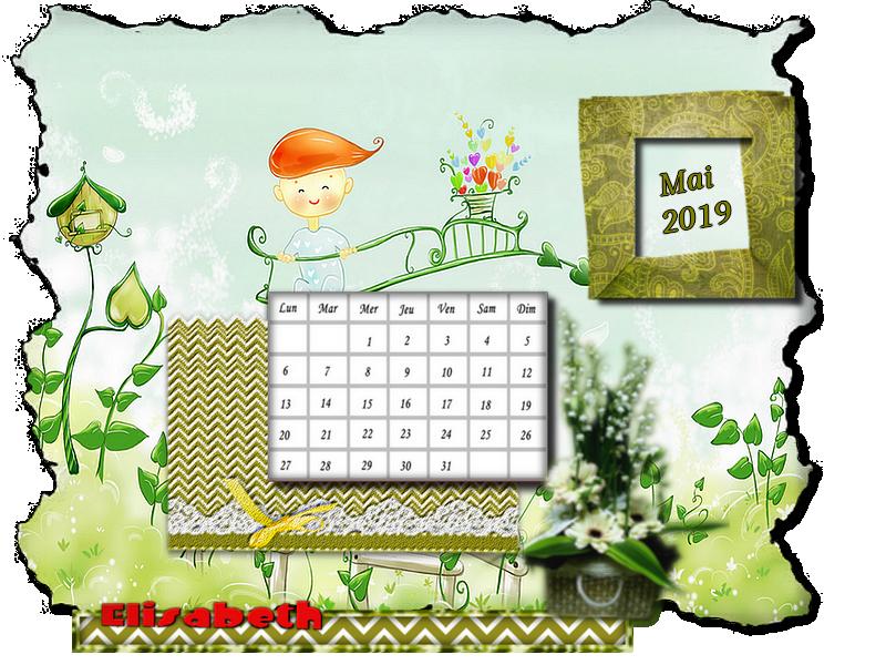 Mon défi calendrier 05-2019