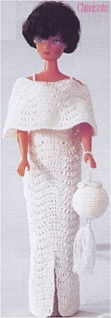 Tuto Barbie crochet :Chinoiserie / Deauville