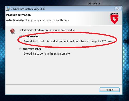 G-Data Internet Security 2012 - Licence 4 mois gratuit