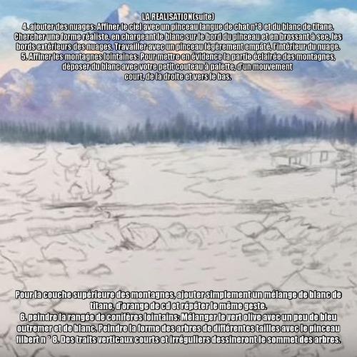 Dessin et peinture - vidéo 3410 : Comment peindre un magnifique paysage ? - acrylique ou huile.