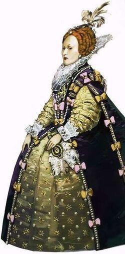 Queen Elizabeth I by Angus MC Bride