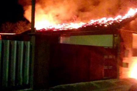 L'incendie de la salle de prière s'est déclaré vers 23h30
