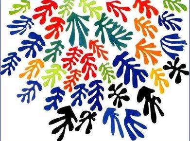 Feuilles de figuiers à la manière de Matisse