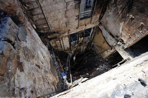 Incendie à la Mairie de La Rochelle