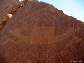 Gravures rupestres en Egypte