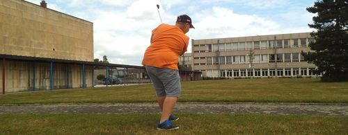 La découverte du golf