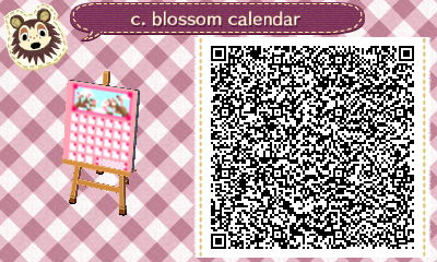 wificrossing:  the template here is totally sophiecrossing's, go check it out! (: so i made a little all-season kinda calendar thing thats supposed to be cherry blossom branches? (i put it on the corkboard furniture item)