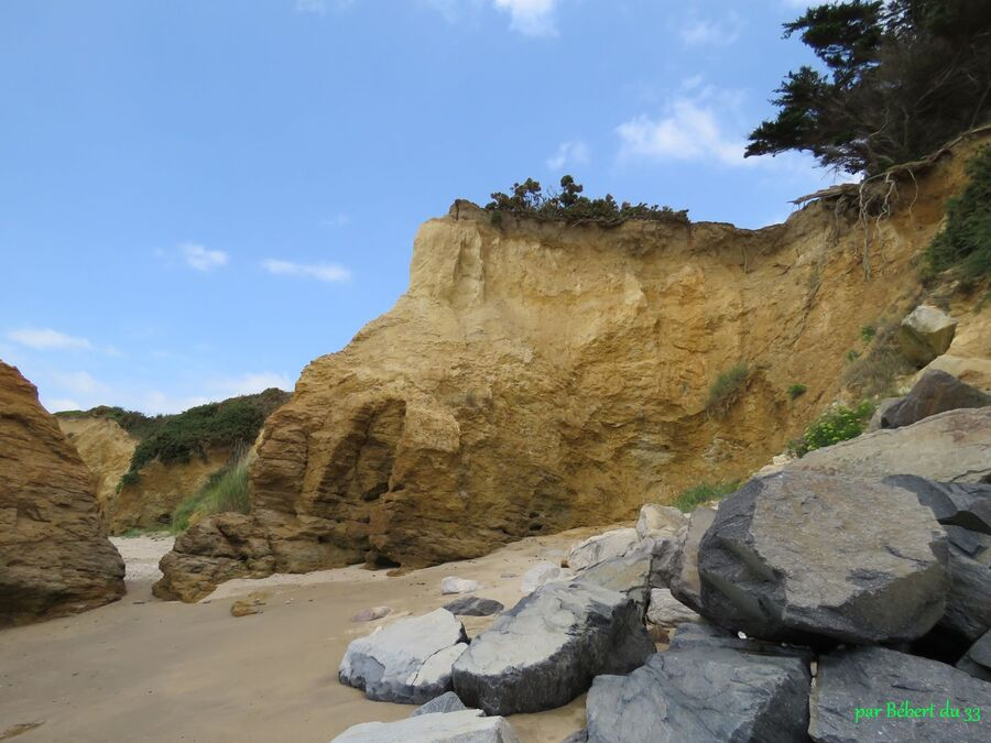 les rochers de Pénestin -2