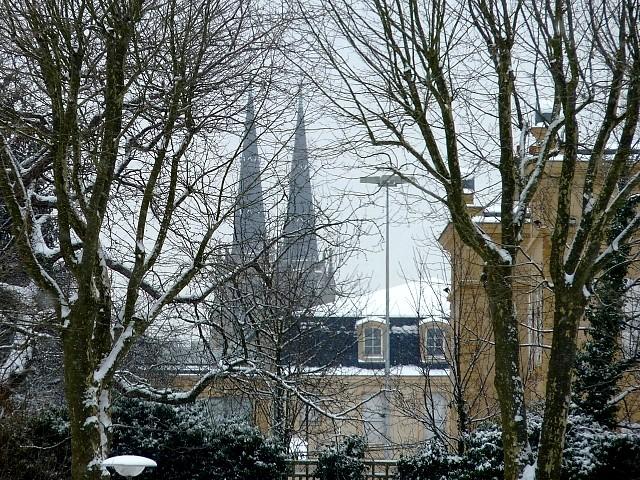 Neige sur Metz 14 Marc de Metz 12 02 2013