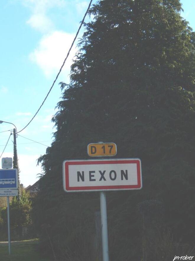 Nexon: Sur ma route, la passerelle du Sirque