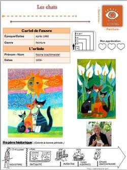 Cartes d'identité des Arts