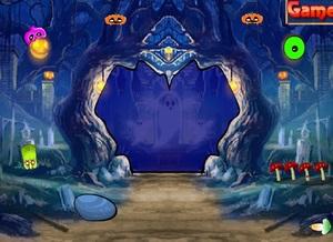 Jouer à Halloween ghost forest escape